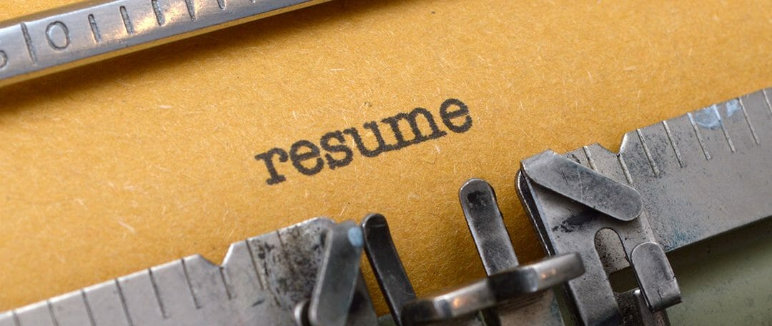 Your Resume First Impression Make It Count