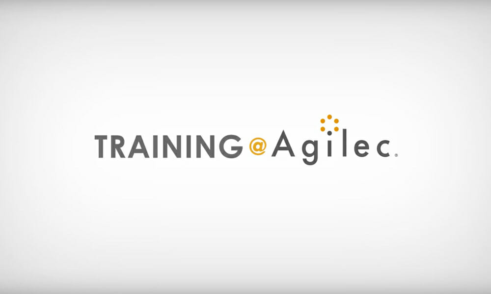 Training @ Agilec