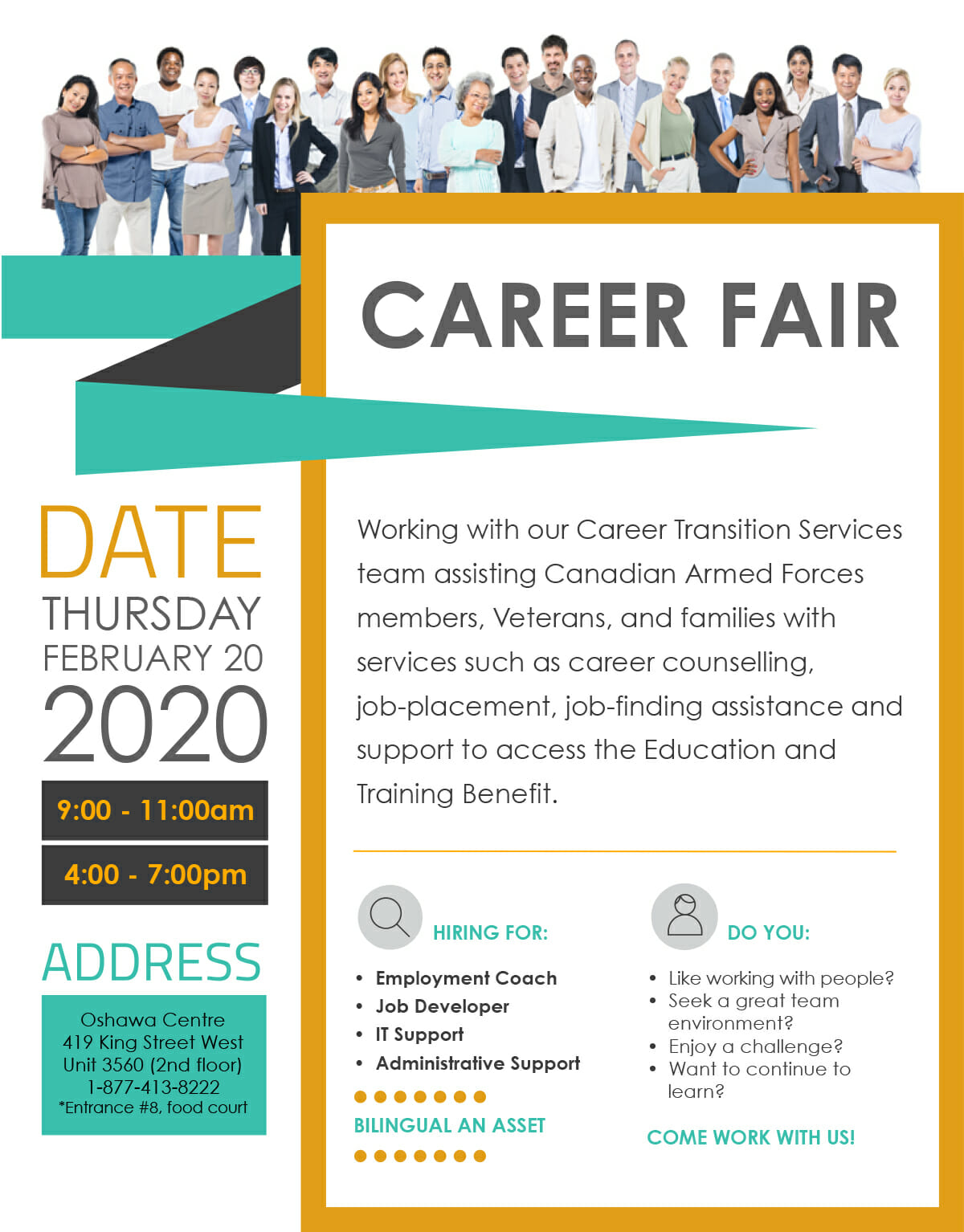 Details about Career Fair
